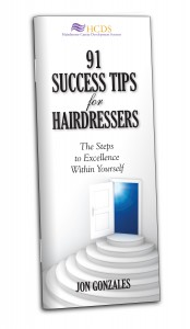 Hairdresser booklet