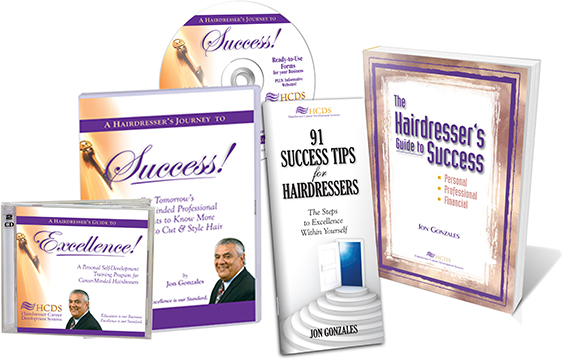Salon Success Books & CD For Hair Stylists